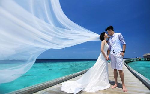 MALDIVES - THIÊN ĐƯỜNG ẢNH CƯỚI