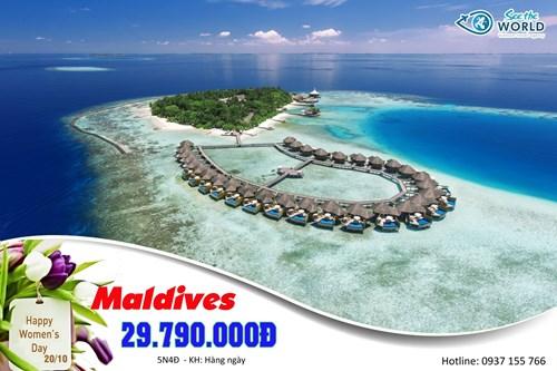 MALDIVES - MỘT BƯỚC ĐẾN THIÊN ĐƯỜNG